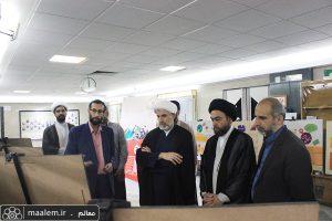 بازدید رییس دفتر تبلیغات اسلامی از نمایشگاه چالشهای مصرف فرهنگی