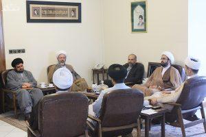 دیدار مدیر کل آموزش با رییس سازمان فرهنگ و ارتباطات اسلامی مشهد مقدس